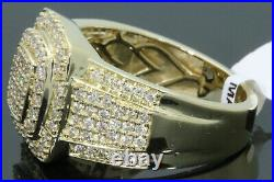 10k Solid Yellow Gold 1.48 Carat Real Diamond Engagement Ring Wedding Pinky Band