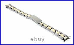 13mm 14k Gold Two Tone Oyster Watch Band For 26mm Rolex Datejust 6916 6917 69173