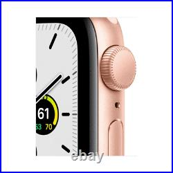 Apple Watch SE (GPS) 40mm Aluminum Case with Pink Sand Sport Band Gold
