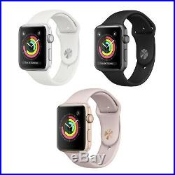 Apple Watch Series 3 42MM GPS + Cellular 4G LTE Gold Space Gray Silver