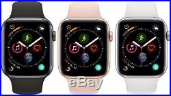 Apple Watch Series 4 40mm 44mm GPS + Cellular 4G LTE Gold Space Gray Silver MINT