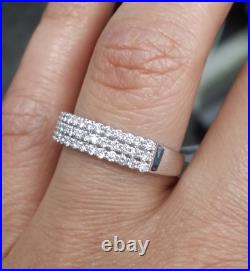 Deal! 0.50CT NATURAL DIAMOND LADIES ENGAGEMENT WEDDING BAND RING IN 14K GOLD