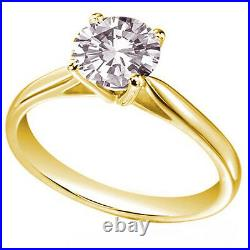 Engagement Ring Solitaire Diamond Unique 9ct Gold UK Hallmarked