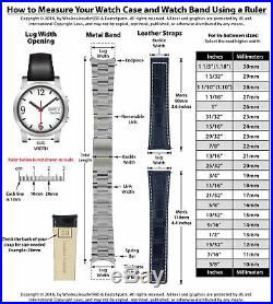 Jubilee Watch Band For Rolex Men Datejust 1601 1603 16013 Real Gold 14k/ss 20mm