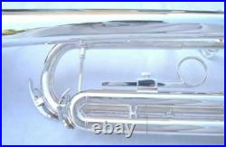 NEW Intermediate SILVER BAND TRUMPET withcase. Approved+Warranty