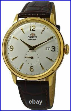 Orient Bambino Classic AP0004S White Dial Brown Leather Band Men's Watch