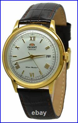 Orient Classic 2nd Generation Bambino Version 2 FAC00007W0 Brown Leather Band Me